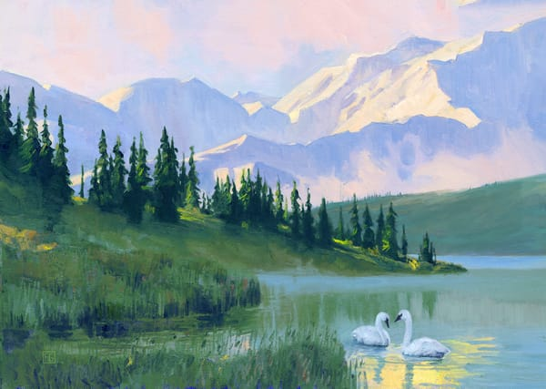 Denali Morning  Art | Studio Girard