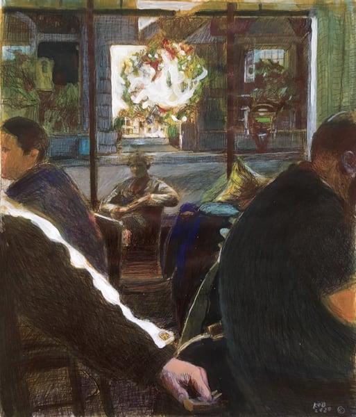 Portrait In Ocean Springs, Mississippi Bar Art | New Orleans Art Center