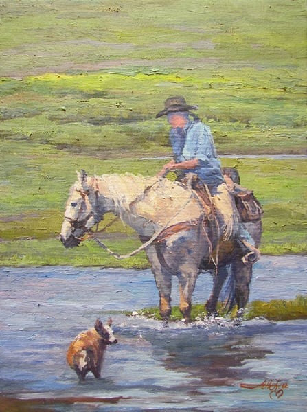 Water Covers Scent And Tracks Art | Artisanjefflove