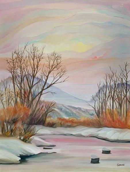 """""""Hope Springs Eternal"""" Oil Painting by Emily Gilman Beezley"""