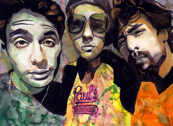 Beastie Boys   Paul´S Boutique Art | William K. Stidham - heART Art