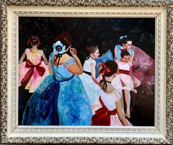 Sold Artwork   Ballet Rehearsal
