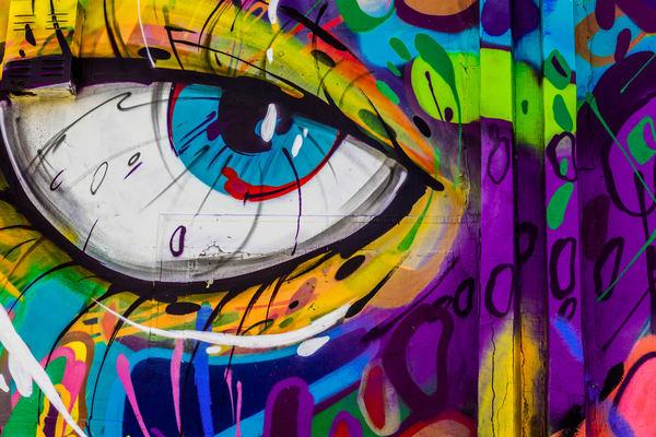 Left Eye Art | Moshe Volcovich