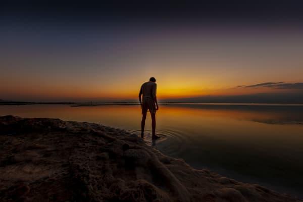 Walking In The Sunrise Art | Moshe Volcovich