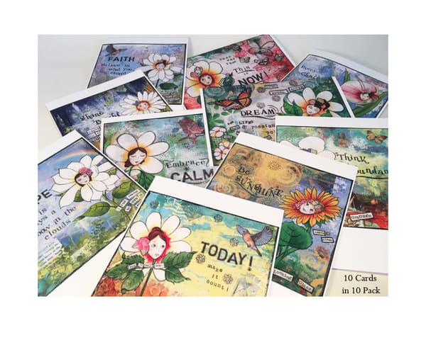 Inspirational Reminder Greeting Cards | Mercedes Fine Art