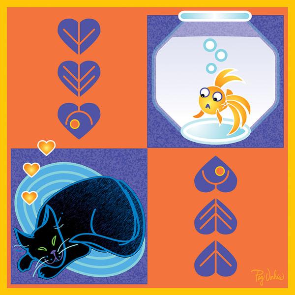 Cat Fish Art | Cincy Artwork