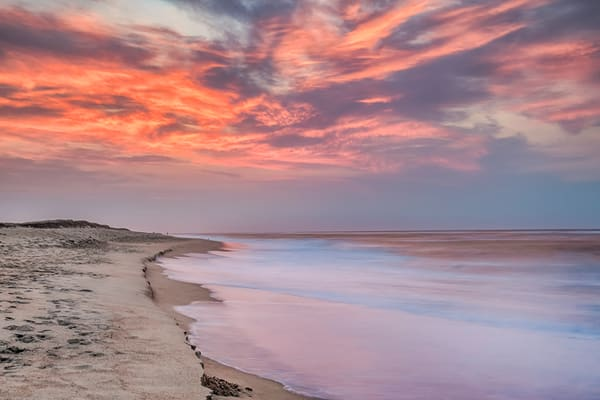 South Beach Fall Clouds Art | Michael Blanchard Inspirational Photography - Crossroads Gallery