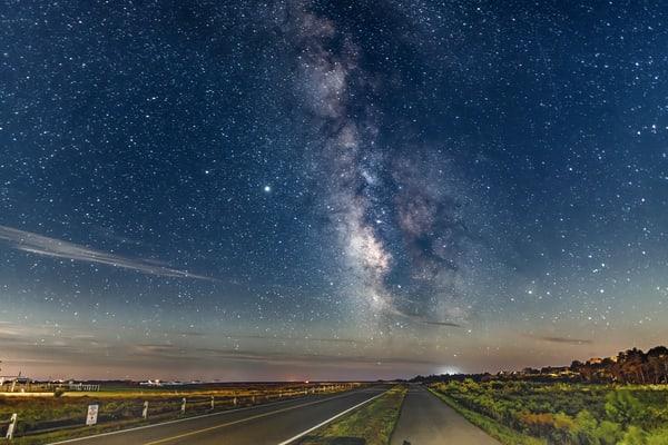 Herring Creek Milky Way Art | Michael Blanchard Inspirational Photography - Crossroads Gallery