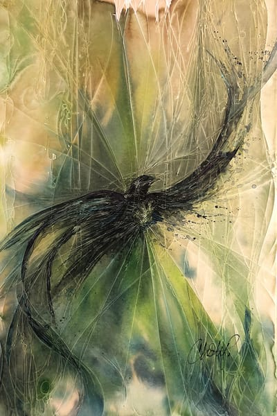 Spirit Of The Black Bird Art | Christy! Studios
