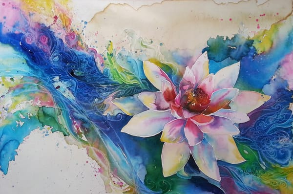 Lotus Flow Art | Christy! Studios
