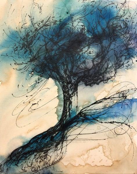Thalo Tree Art   Christy! Studios