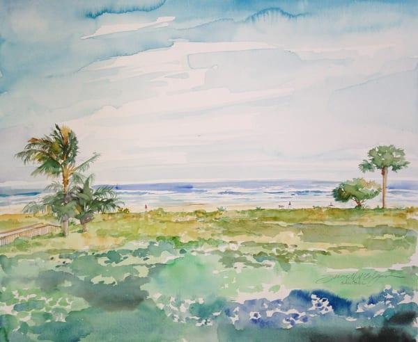 Sanibel Island Beach Art | susie mccolgan art