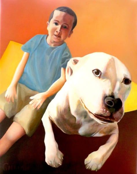 """Best Friends"" Artwork by Emily Gilman Beezley"