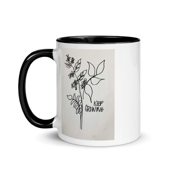 Keep Growing   Coffee Mug  | ashalmonte