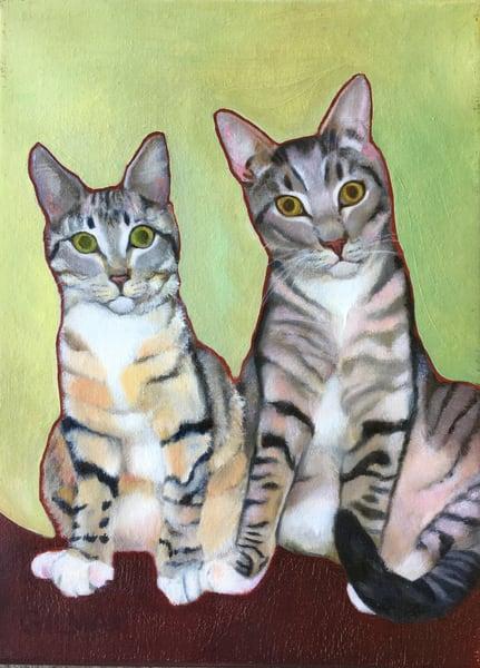 Litter Mates Art | Emily Gilman Beezley Fine Art