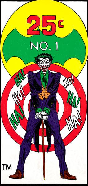 The Joker Print Art | Todd Monk Art