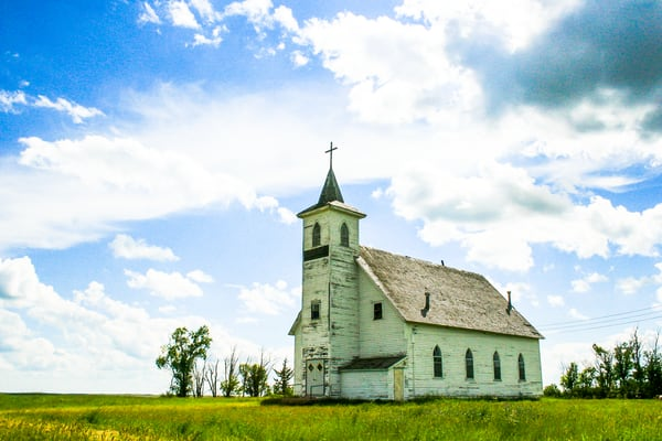 Old Church Photograph