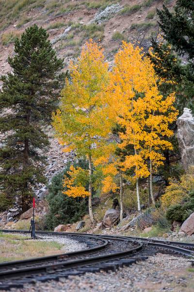 Georgetown Train Colorado Railroad Photo