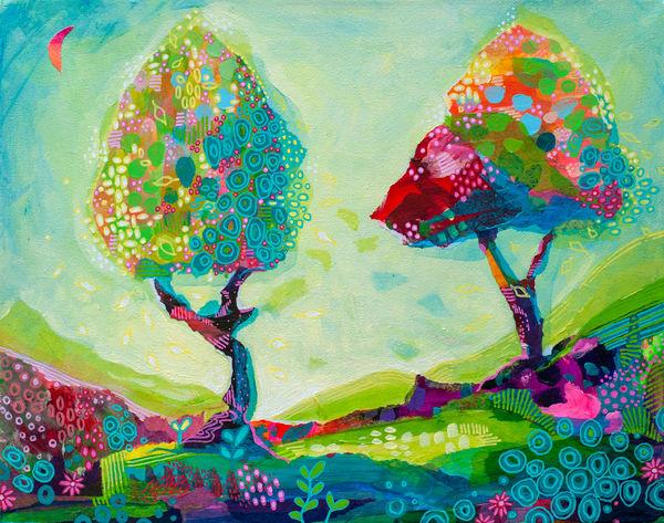 Gratitude, Original Painting Art | Jessica Hughes Fine Art
