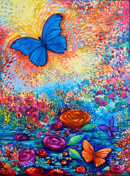 Freedom 3, Original Painting Art | Jessica Hughes Fine Art