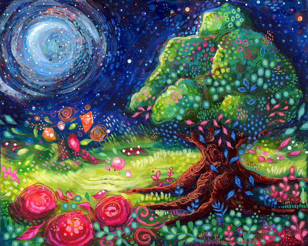 Tree Of Life #3, Original Painting Art | Jessica Hughes Fine Art