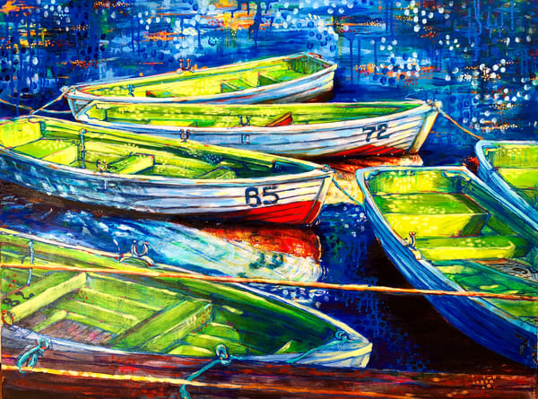Serenity,Original Painting Art | Jessica Hughes Fine Art