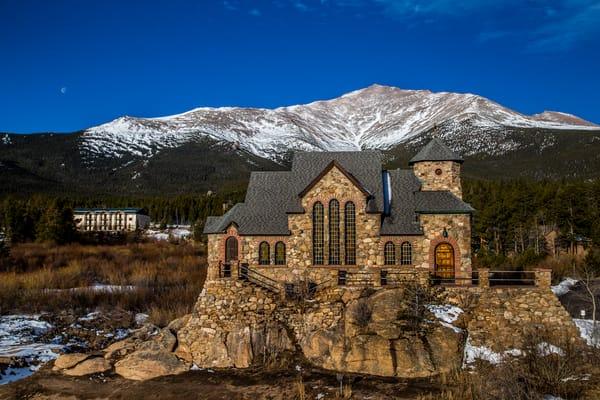Photograph of Saint Malos Chapel Allens Park Estes Park Colorado