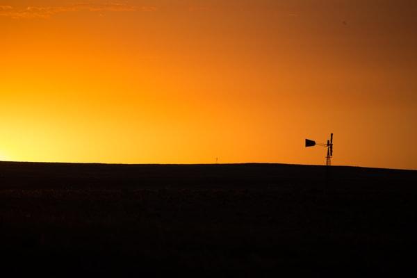 Colorado Pawnee Grassland Windmill Photograph