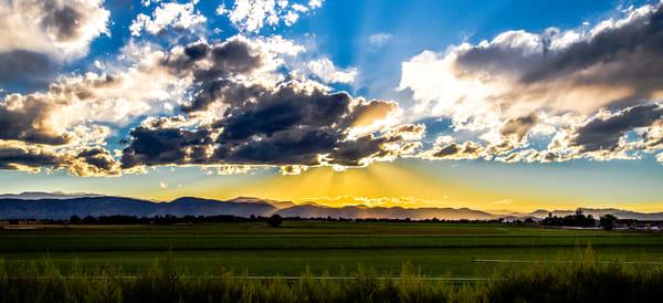 Front Range Northen Colorado Wall Art of Sunset