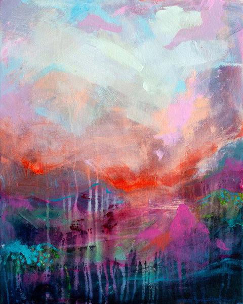 Heartbeat Of Freedom, Original Painting Art   Jessica Hughes Fine Art