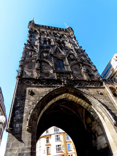 Powder Tower In Prague  Photography Art | Photoissimo - Fine Art Photography