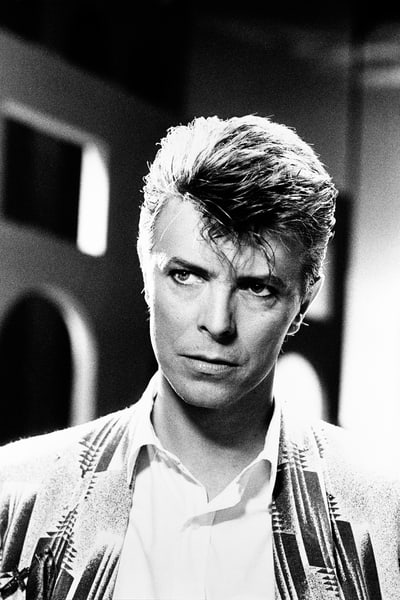 David Bowie in the Loving The Alien video