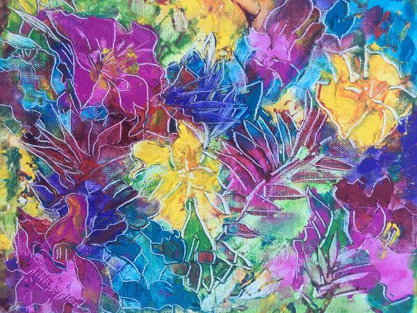 Tropical Memories Art | vibrant art studio, Art by Annette Dion McGowan