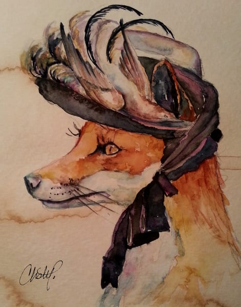Francine Fox Fancy Steampunk Lady Art | Christy! Studios