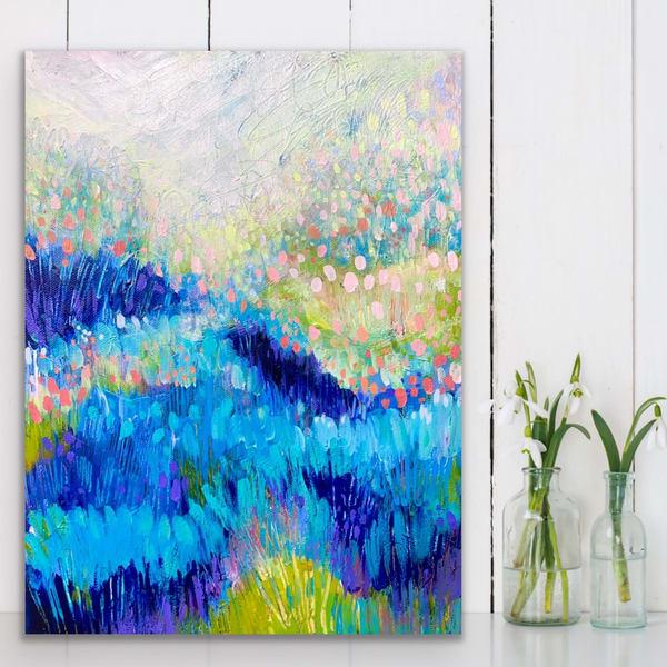 Dreamer, Original Painting Art   Jessica Hughes Fine Art