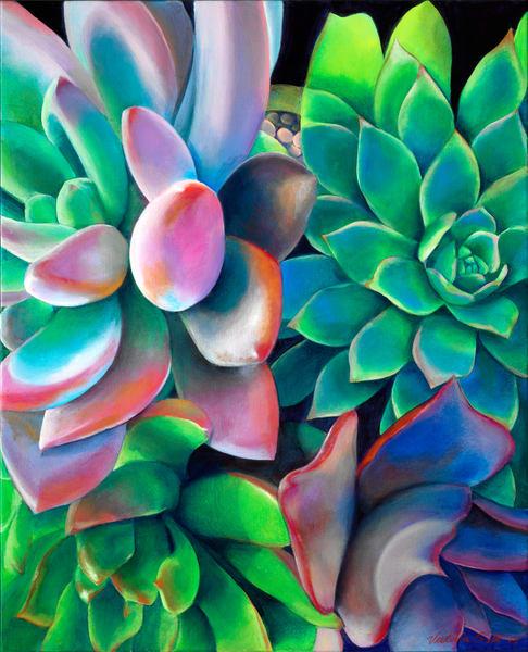 Succulent I Art | GSL ART