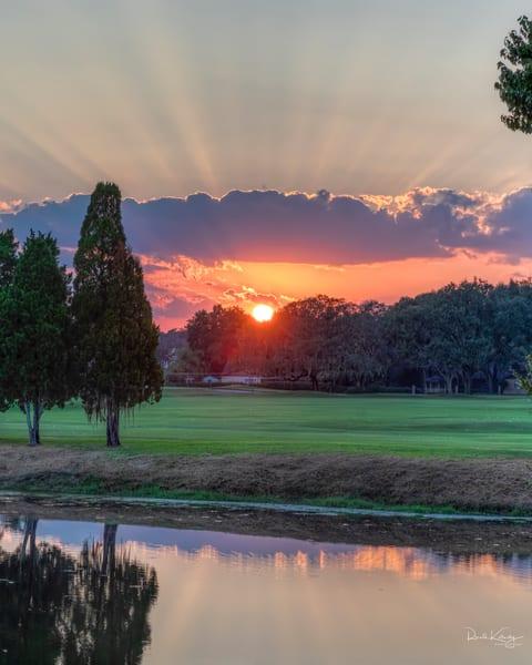Crepuscular Glory Sunset
