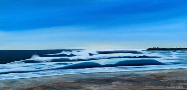 """""""Wind Effect 2"""" Oil Painting by Emily Gilman Beezley"""