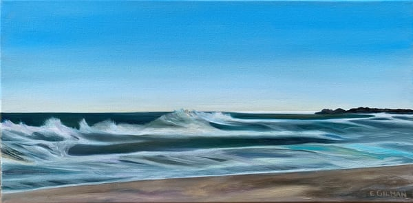 """""""Wind Effect 3"""" Original Oil Painting by Emily Gilman Beezley"""