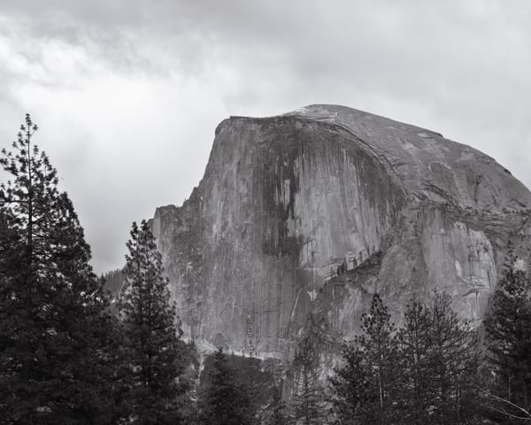 Face Of Half Dome Photography Art | Greg Starnes Phtography