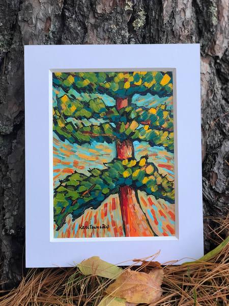 White Pine Season Art | Kari Townsdin