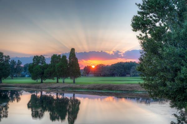 Glorious Sunset Rays