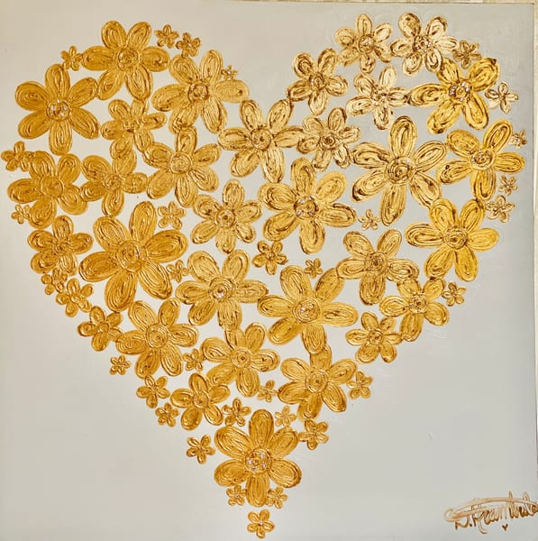 Heart Of Gold  Art | Heartworks Studio Inc