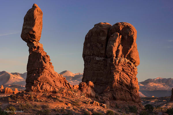 Balanced Rock Arches National Park fine art nature photography prints for sale | Thom Schoeller