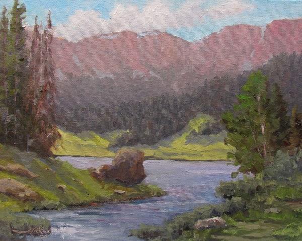 Brooks Lake Creek Art | Artisanjefflove