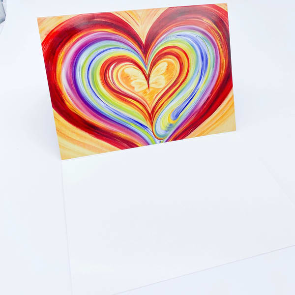 To Have And To Hold Blank Greeting Card | Heartworks Studio Inc