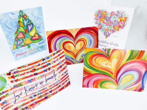 Assortment Of 25 Greeting Cards  | Heartworks Studio Inc