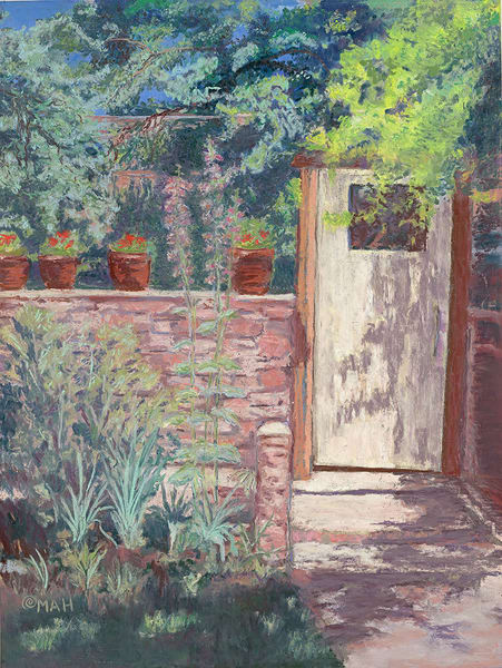 """Door to Nowhere"" fine art print by Mary Anne HIll."