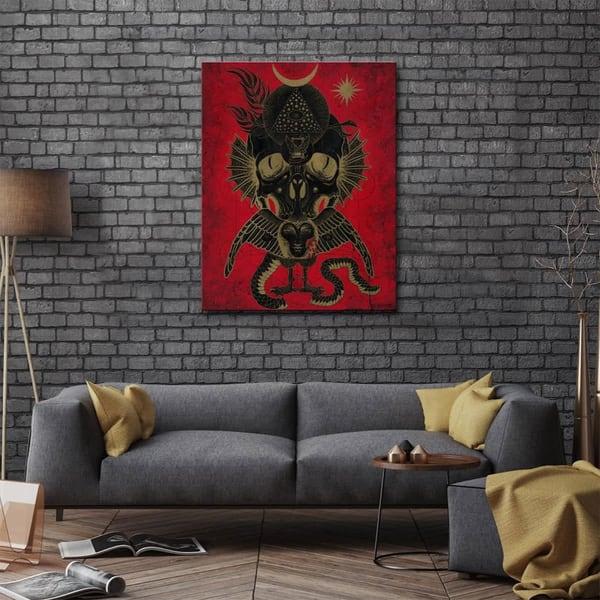 Mike Rubendall Canvas Art | Kings Avenue Tattoo