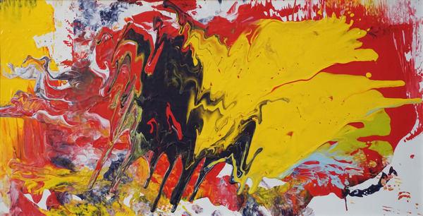 Bull And The Duck Art | Maciek Peter Kozlowski Art